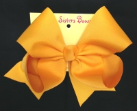 yellow gold bow